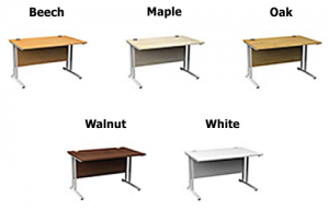 Set Height Desk color options