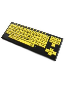 HiVis Key Monster Upper Case Keyboard